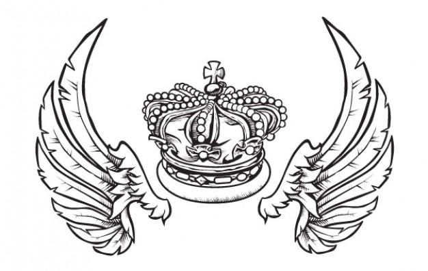 A coroa e as asas