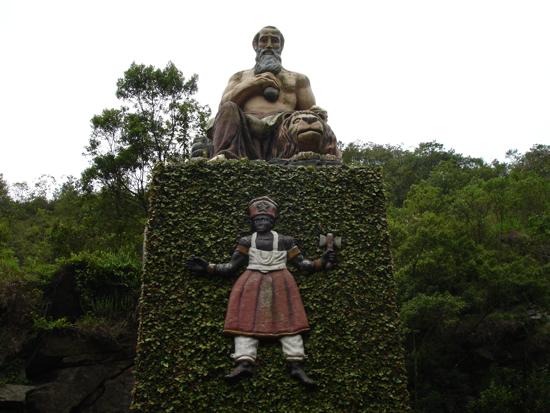 Xangô - Santuário Nacional da Umbanda