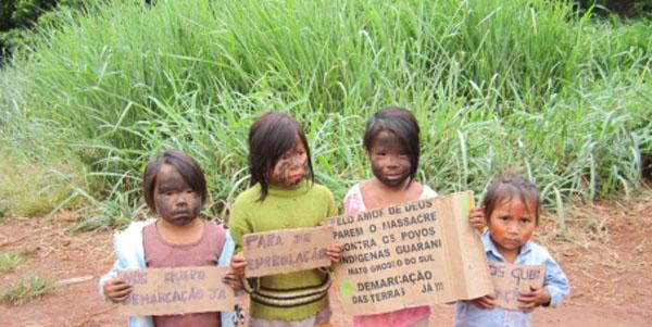 Salvemos os índios Guarani-Kaiowá. URGENTE!