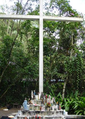 Cruzeiro das Almas Santuário Nacional da Umbanda - Jan/2011