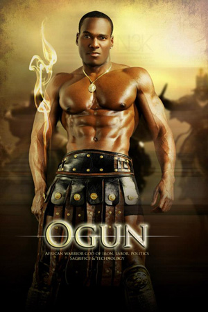 Orishas-by-Noire-3000-aka-James-C.-Lewis-Ogun